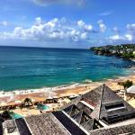 """View from our """"Emerald Honeymoon Oceanview"""" Room"""