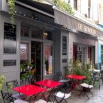 Exterior to Cafe