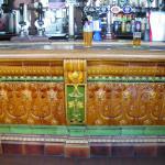 Tiled front in Public Bar