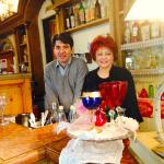 William Nocentini and Gilda Gradi, co-proprietors