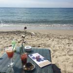 Mojito Fraise  ( morceaux fraise )et cocktail Sexe on the beach