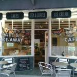 Outside of Cafe