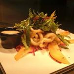 Tropical Calamari Salad -- Best Seller!!!