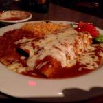 Traditional Enchilada plate