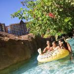 With a lazy river, rushing rapids and 2 waterslides, Waikolohe Stream is brimming with family fu
