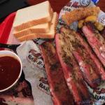 Half rack of ribs