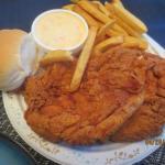 Chicken breast platter
