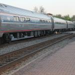 AMTRAK passenger train enroute to Richmond, VA