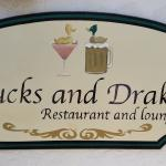 Ducks & Drakes Sign