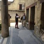 In Pompei or Herculaneum.
