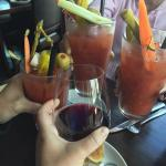 Best Bloody Mary's! My friends love them! Food was great!  The homemade chips were awesome.  Nic
