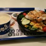 Cashew Chicken Salad and Soup at Culver's Adrian