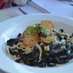Black ink squid pasta