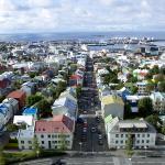 View of Reykjavík from Hallgrímskirkja tower