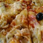 gros plan pizza
