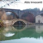 Lago di Pontecosi: Ponte e Chiesa della Madonna delle Grazie
