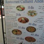 Photo de Restaurant Culturel Andalussi