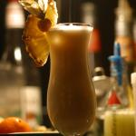 Gelbe Haus Cocktailbar Foto