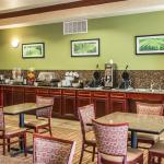 Newly renovated complimentary hot breakfast area
