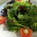 Eiffel Tower House Salad (dressing on the side)