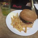 A really great burger