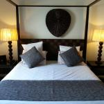 Comfortable four poster beds