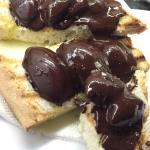 Pan con chocolate y sal