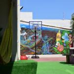 Tranquilidad en el patio + Basket = PERFECCION