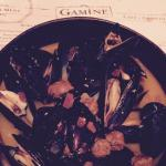Delicious moules frites...