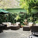 Courtyard Patio for our fun. wine hours!