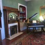 Living Room w/ baby grand piano