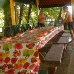 LUNCH AT THE PARK ON CAYO ZAPATILLA