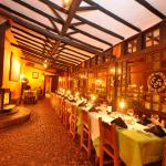Comedor del Restaurante En Guasca en la Sabana de Bogota, Cafe La Huerta
