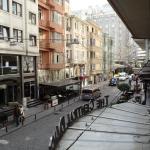 street view from open window