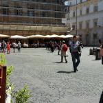 The main square in Trasteverie