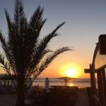 Sunrise at Blue Beach Club