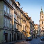 Hotel exterior - Mostecka street