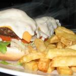 100% Beef patty Burgers - Freshly made