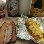 Dinner and a Shiner