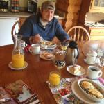 Breakfast Table....