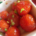 Side of roasted tomatoes