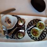 menu 7 services : Mise en bouche