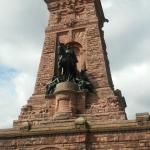 Das Kyffhäuser-Denkmal (Eintritt 7,50€) ist auch  mit dem Fahrrad erreichbar