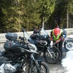 Im April noch Schnee im Harz