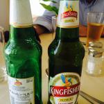 Tampered Expired Kingfisher Beer being served at Neemrana Fort Palace
