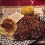 Great steak dinner.