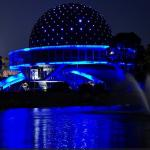 Planetario Galileo Galilei de noche