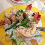 Lobster dinner.