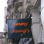 jimmy chungs Restaurant Sign