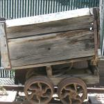 Car from a mining operation